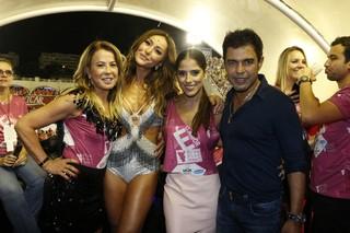 Zilu, Sabrina Sato, Camila e Zezé di Camargo (Foto: Delson Silva/AgNews)