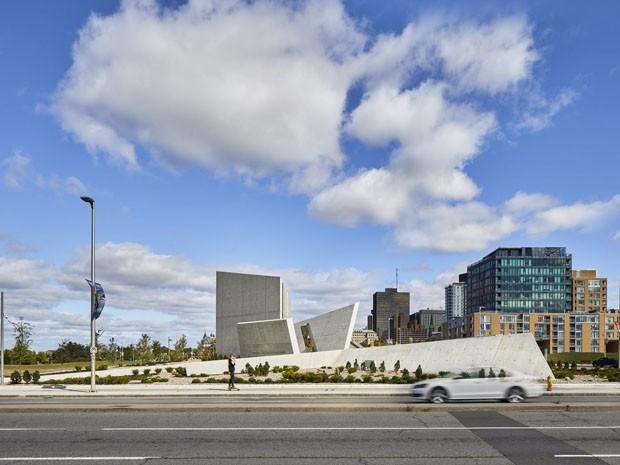 Estrela de Davi marca novo monumento canadense em homenagem a judeus (Foto: Divulgação)