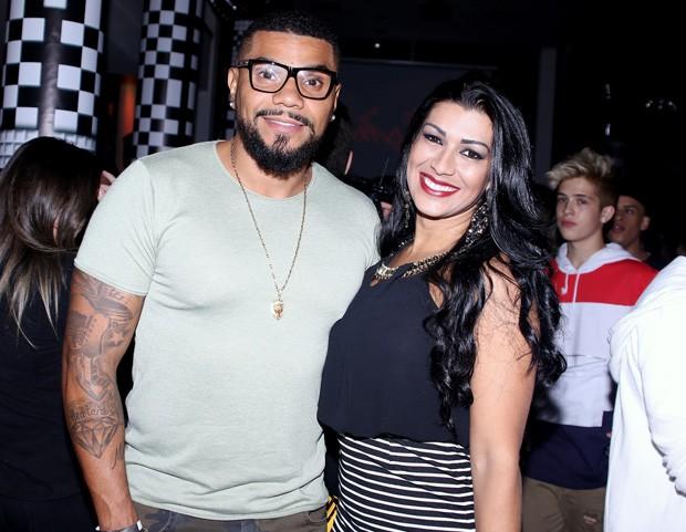 Naldo e Ellen Cardoso (Foto: Thiago Duran/AgNews)