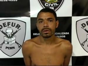 Gustavo Nicácio foi recapturado na manhã desta sexta-feira (30) (Foto: Divulgação/PC)