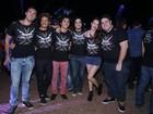 Elenco de 'Verdades Secretas' curte junto primeiro dia de Rock in Rio