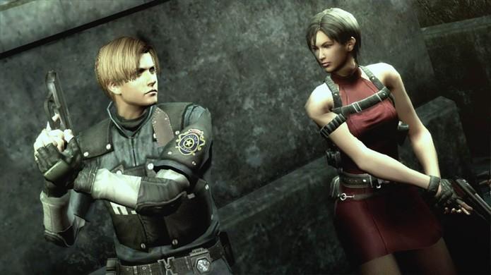 A Capcom também trouxe belos gráficos ao Nintendo Wii com Resident Evil: The Darkside Chronicles (Foto: Reprodução/Resident Evil Wiki)