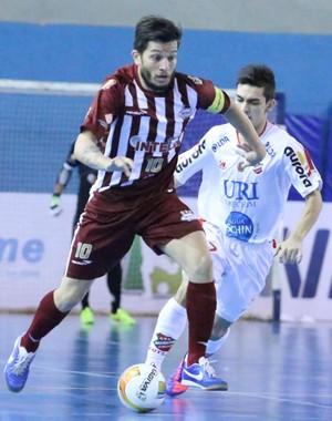 Orlândia x Atlântico Erechim, Liga Nacional de Futsal Cabreúva (Foto: Márcio Damião / ADC Intelli)