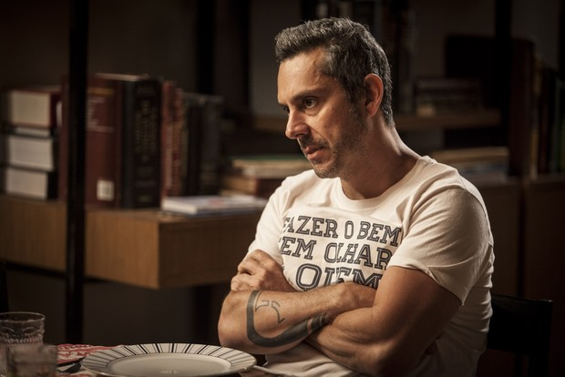 Alexandre Nero como o personagem Romero em A Regra do Jogo (Foto: Globo/ Pedro Curi)