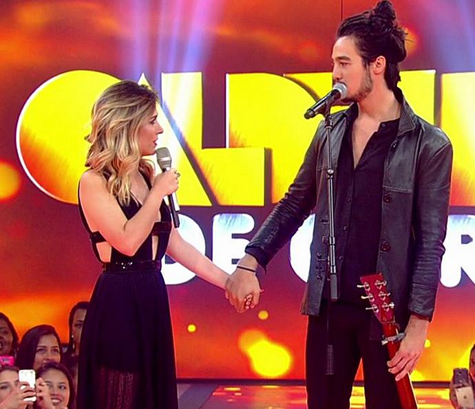 Internautas shippam Iorc e Tatá ♥ (Foto: TV Globo)