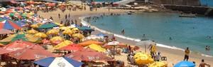 Baianos e turistas reclamam da alta do preço nas praias durante o verão (Ruan Melo / G1)