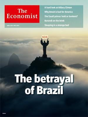 Capa da Economist - A Grande Traição (Foto: Reprodução/The Economist)