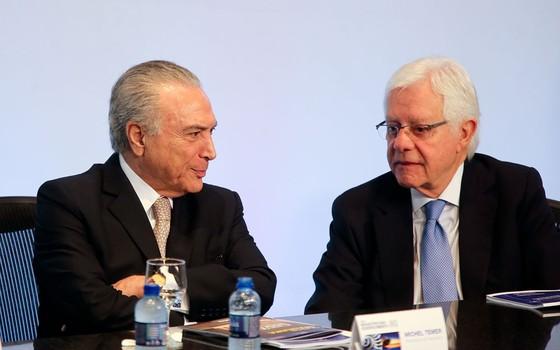 Rede recorre ao STF para pedir afastamento de Moreira Franco de ministério