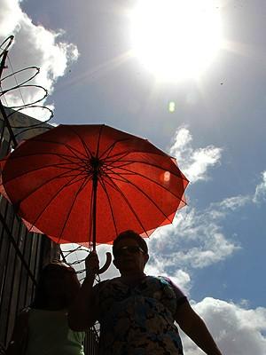 No início da estiagem, termômetros no Maranhão chegam perto dos 40°C (Foto: Biné Morais / O Estado)