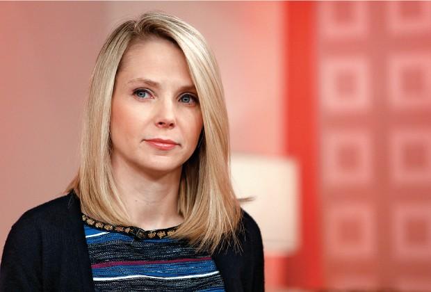 A CHEFE Marissa Mayer, do Yahoo. Ela compra empresas para trazer novos talentos (Foto: Peter Kramer/AP)