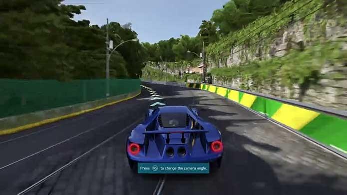 Forza 6 tem também o Alto da Boa Vista fora de lugar (Foto: Reprodução/Murilo Molina)