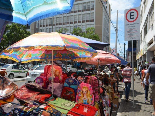 Prazo do acordo que permite ocupação da rua expirou em dezembro (Foto: Marina Fontenele/G1)