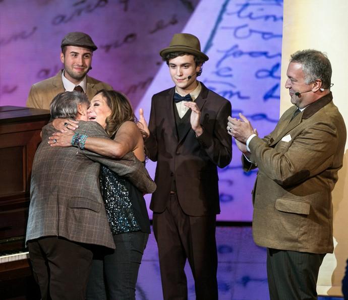 Susana Vieira agradece à família (Foto: Isabella Pinheiro / Gshow)
