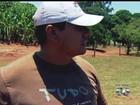 Empregado de fazenda relata susto com queda de avião: 'Vi a explosão'