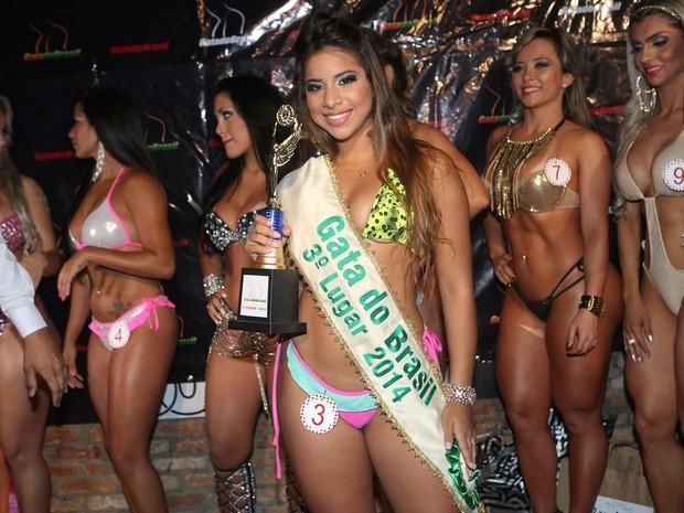 Hellen Bonato, do Piauí, terceira colocada no Gata do Brasil (Foto: Iwi Onodera/ EGO)