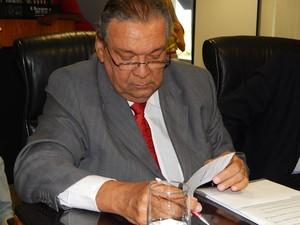 Zezéu Ribeiro na sua posse no Tribunal de Contas do Estado da Bahia (Foto: Divulgação/TCE)
