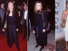 Que diferença! Veja a evolução no estilo de Jennifer Aniston, que completa 46 anos nesta quarta, 11