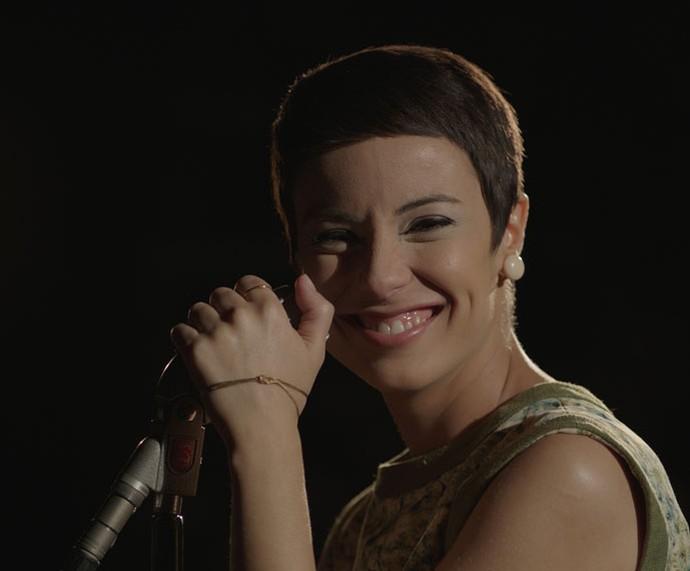 Andreia Horta como Elis Regina no cinema (Foto: Divulgação/Globo Filmes)