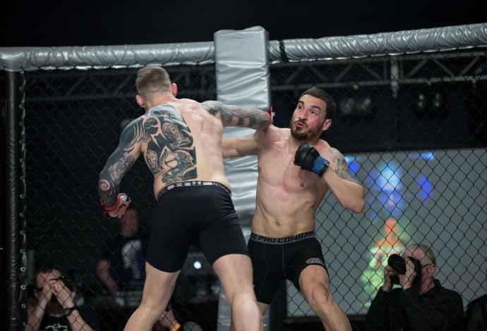 Charlie Ward João Carvalho TEF 1 MMA (Foto: Dave Fogarty - Independent)