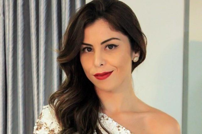 Michele montou look incrível para festa de gala (Foto: Arquivo Pessoal/Divulgação)