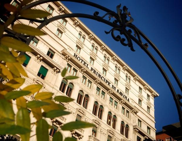 Hotel Principe di Savoia, em Milão (Foto: reprodução)