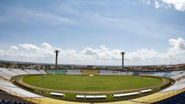 Estádio Albertão, em Teresina (Foto: Regis Falcão/CCom)