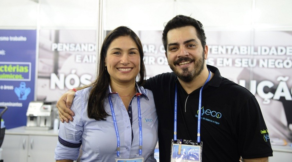 Juliana Corrêa e Paulo Nogueira, fundadores da Eco1 (Foto: Divulgação)