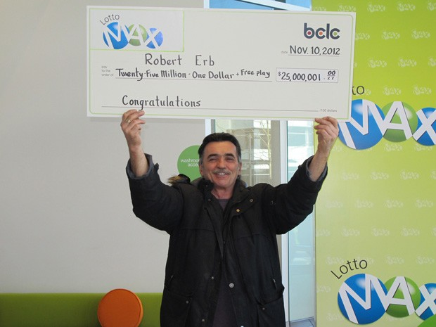 Bob Erb destinou mais de US$ 1 milhão de seu prêmio para militar pela legalização da maconha (Foto: Divulgação/BCLC)