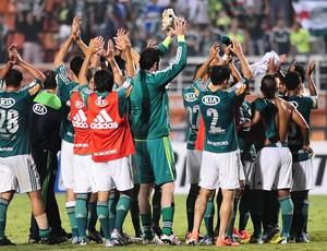 Jogadores Palmeiras x Tigre (Foto: Marcos Ribolli / Globoesporte.com)