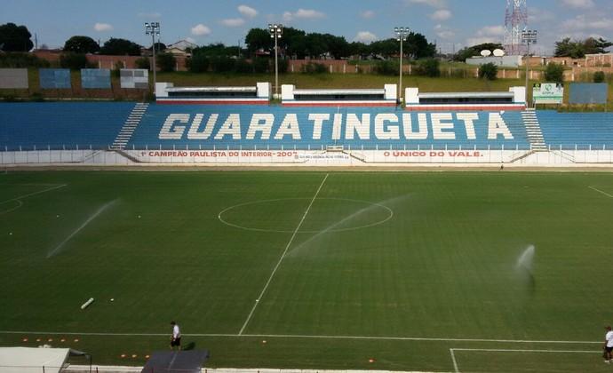 Estádio Dario Rodrigues Leite (Foto: Glaucia Santiago/EPTV)