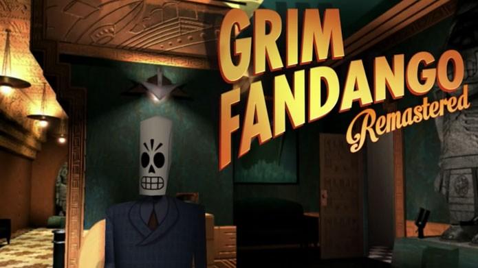 Grim Fandango Remastered é um dos jogos de janeiro para os assinantes da PS Plus (Foto: Divulgação)