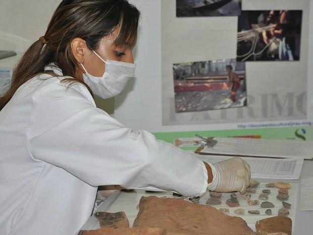 Mais de 100 mil peças foram encontradas em 45 sítios arqueológicos em Porto Velho. (Foto: Divulgação/Usina Hidrelétrica de Jirau)