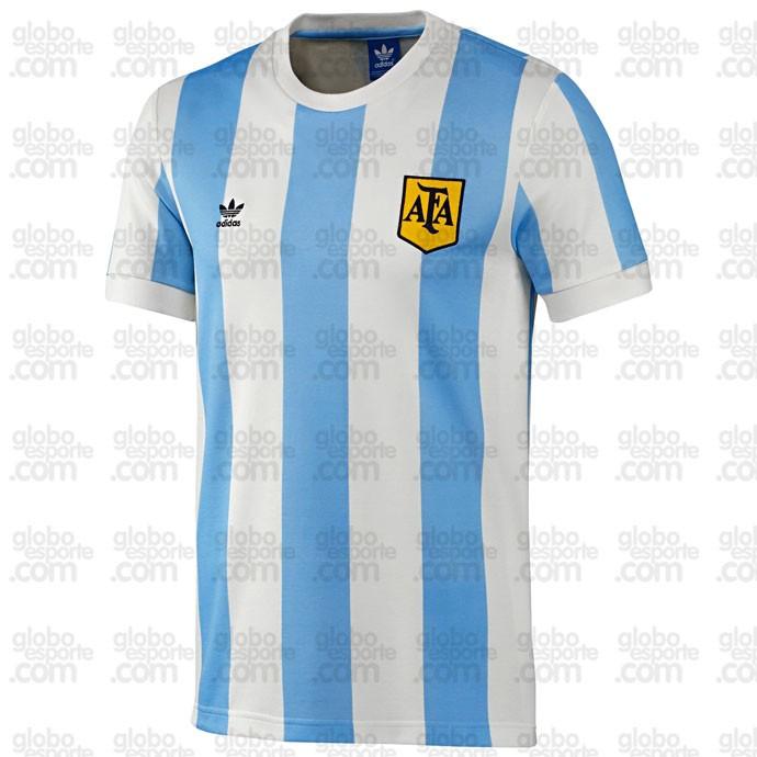 Camisa retrô Espanha