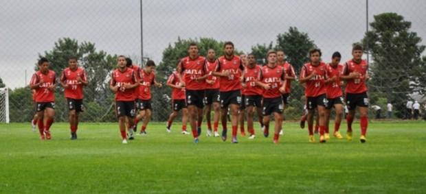 Time sub-18 do Atlético-PR incia preparação para Copinha (Foto: Divulgação/Site oficial do Atlético-PR)