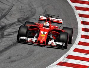 Sebastian Vettel Ferrari Gp da Áustria 2017 (Foto: Getty Images)