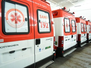 Ambulância do Samu. Centro-Oeste receberá serviço (Foto: Márcio Ferreira/Agência Minas)