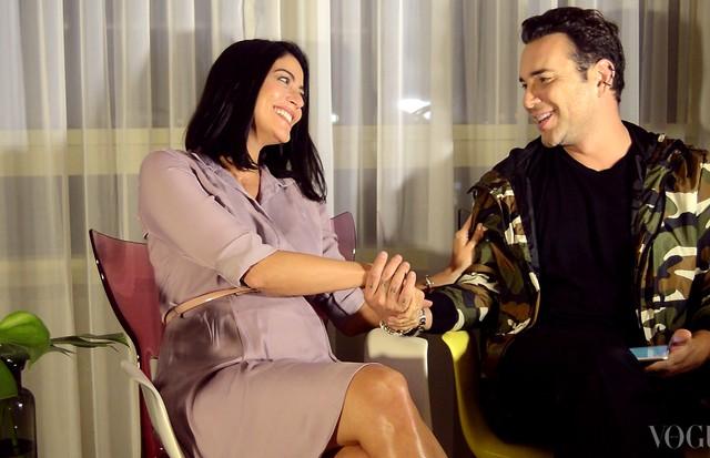 Carol Castro revela detalhes da gravidez para Matheus Mazzafera (Foto: Divulgação)
