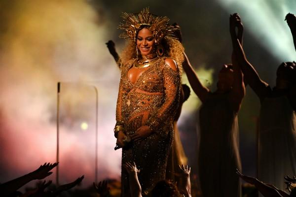 Beyoncé nos primeiros meses da gestação dos gêmeos (Foto: Getty Images)