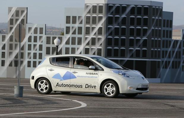 Nissan Leaf Autonomous Drive (Foto: Divulgação)