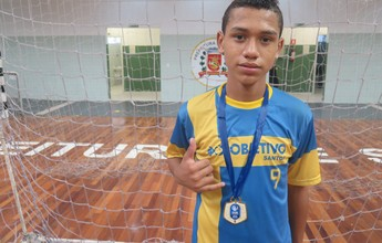 Confira os principais goleadores da 14ª Copa TV Tribuna de Futsal Escolar