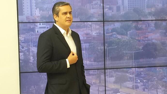 Beto Santos - presidnte do América-RN (Foto: Canindé Pereira/Divulgação)