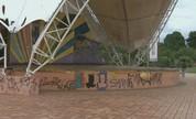 Pontos turísticos do Parque da Maternidade sofrem com a falta de manutenção (Reprodução/Rede Amazônica Acre)