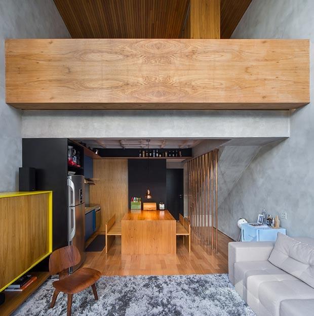 sala-de-tv-tapete-sofa-sala-de-jantar-cadeira (Foto: Divulgação)