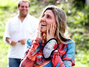 Luciana disse que a surpresa foi um misto de nervosismo e medo (Foto: Divulgação/ Agência Berenger)