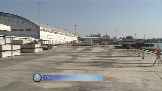 Após liberação de recursos, Porto de Itajaí retoma obras de melhorias