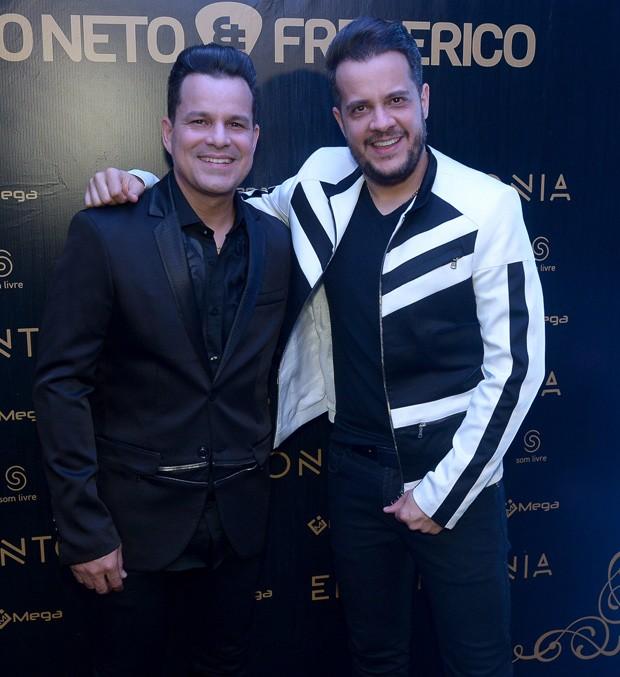 A dupla João Neto e Frederico (Foto: Francisco Cepeda/AgNews)