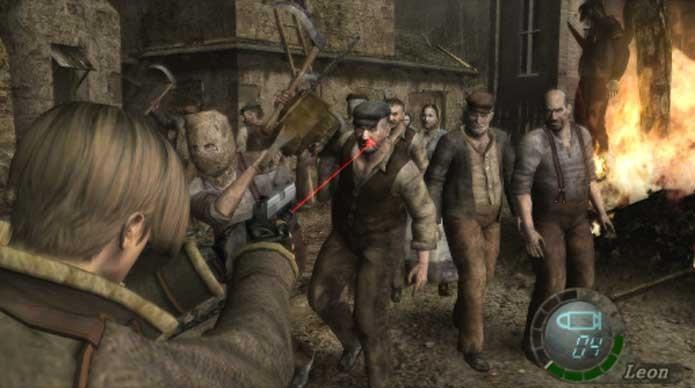 Inimigos de Resident Evil 4 geraram polêmica (Foto: Divulgação/Capcom)