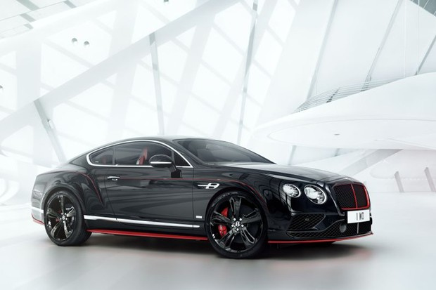 Bentley Continental GT Black Speed (Foto: Divulgação)