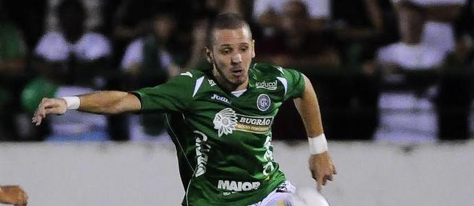 Vitor Hugo, Guarani x Velo Clube (Foto: Rodrigo Villalba/ Divulgação Guarani)