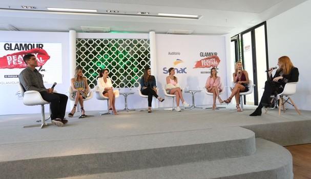 """Palestra """"Healthification"""" reuniu uma turma de musas fitness no Glamour Beauty Festival (Foto: Roberto Filho)"""